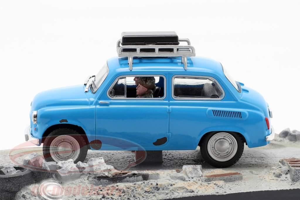 ZAZ-965A blue Goldeneye James Bond Movie Car 1:43 Ixo