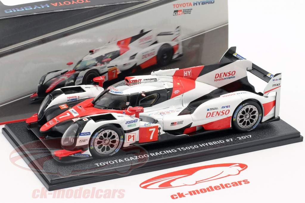 Toyota TS050 Hybrid #7 Toyota Racing WEC / 24h LeMans 2017 1:38 Spark