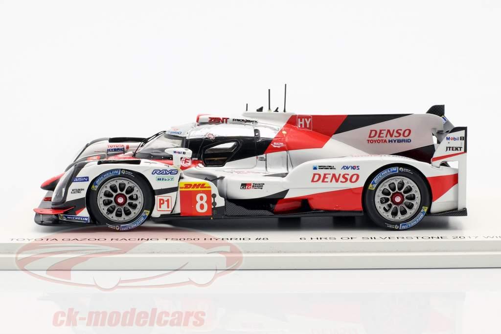 Toyota TS050 Hybrid #8 WEC gagnant 6h Silverstone 2017 Toyota Racing 1:43 Spark