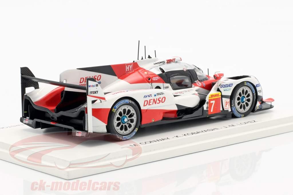 Toyota TS050 Hybrid #7 WEC 6h Silverstone 2017 Toyota Gazoo Racing 1:43 Spark