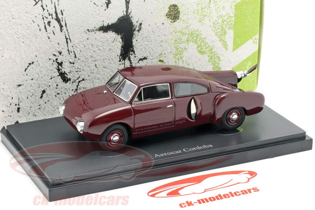 Aerocar Cordoba Baujahr 1953 dunkelrot 1:43 AutoCult
