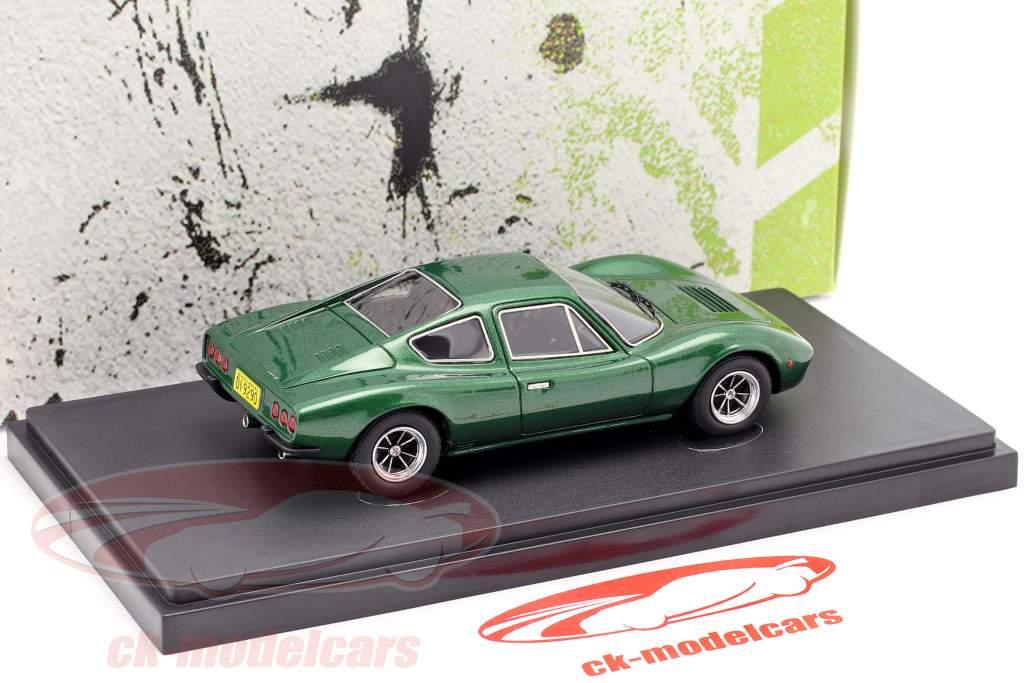 Bianco S Coupe ano de construção 1977 verde metálico 1:43 AutoCult