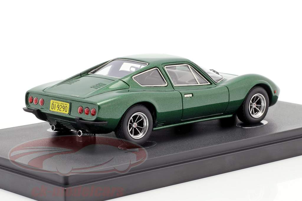 Bianco S Coupe year 1977 green metallic 1:43 AutoCult