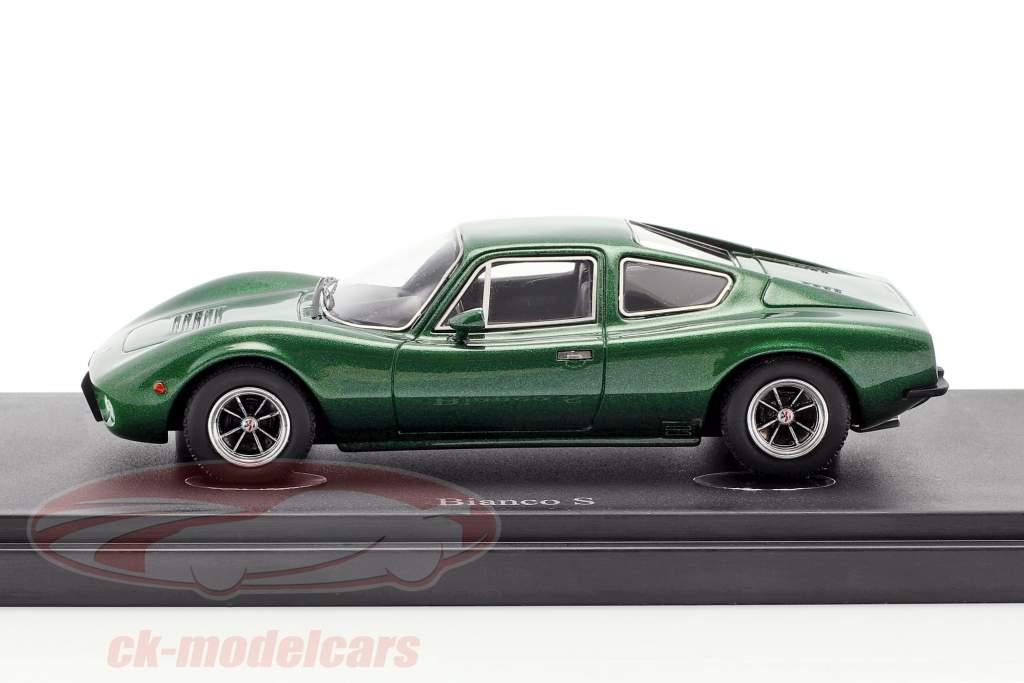 Bianco S Coupe anno di costruzione 1977 verde metallico 1:43 AutoCult