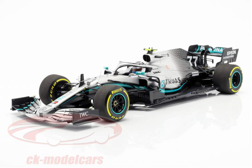 Valtteri Bottas Mercedes-AMG F1 W10 EQ Power+ #77 Formel 1 2019 1:18 Minichamps