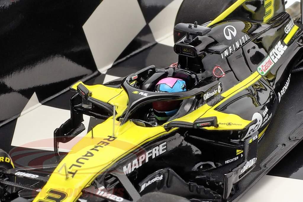 Daniel Ricciardo Renault R.S.19 #3 fórmula 1 2019 1:43 Minichamps