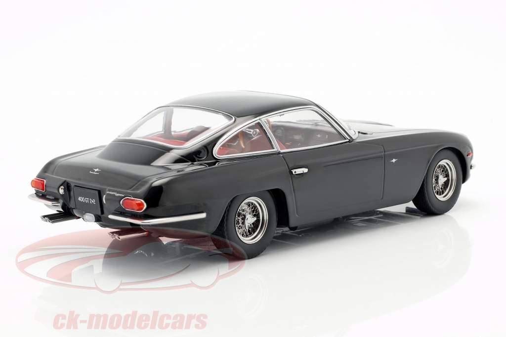 Lamborghini 400 GT 2+2 Baujahr 1965 schwarz 1:18 KK-Scale