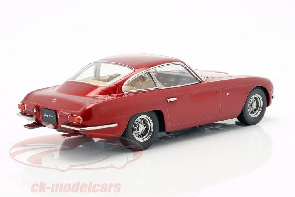 Lamborghini 400 GT 2+2 Baujahr 1965 rot metallic 1:18 KK-Scale
