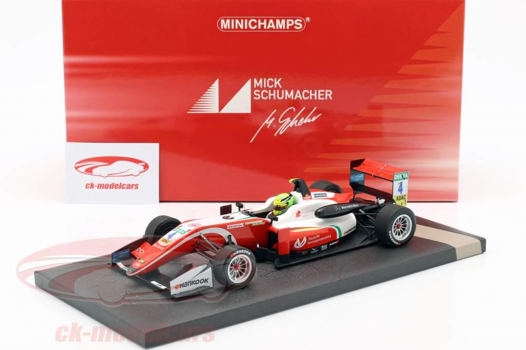 Mick Schumacher Dallara F317 #4 formel 3 mester 2018 1:18 Minichamps