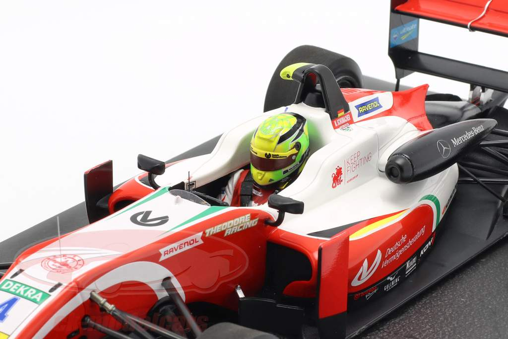 Mick Schumacher Dallara F317 #4 Formel 3 Champion 2018 1:18 Minichamps
