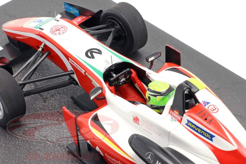 Mick Schumacher Dallara F317 #4 formula 3 champion 2018 1:18 Minichamps