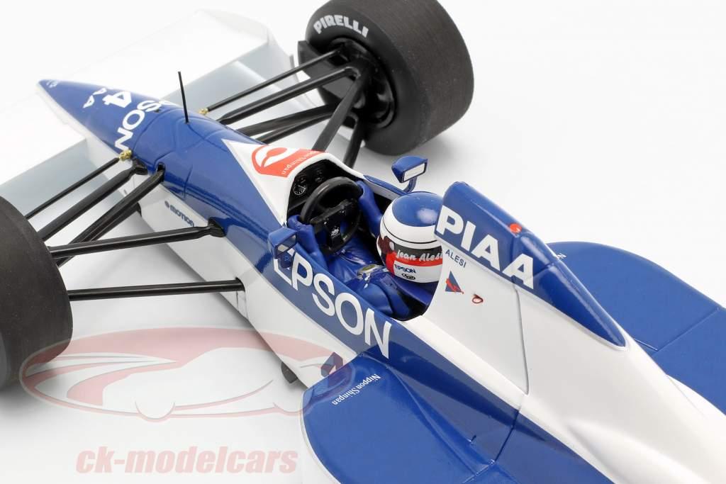 Jean Alesi Tyrrell 018 #4 2nd United States GP formula 1 1990 1:18 Minichamps