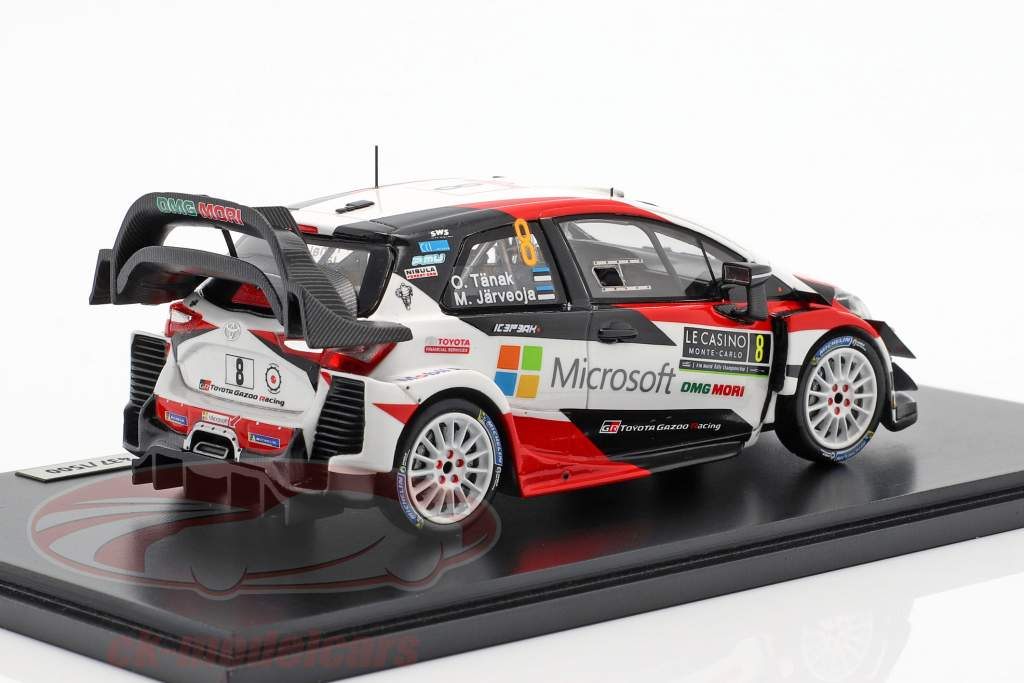 Toyota Yaris WRC #8 segundo Rallye Monte Carlo 2018 Tänak, Järveoja 1:43 Spark