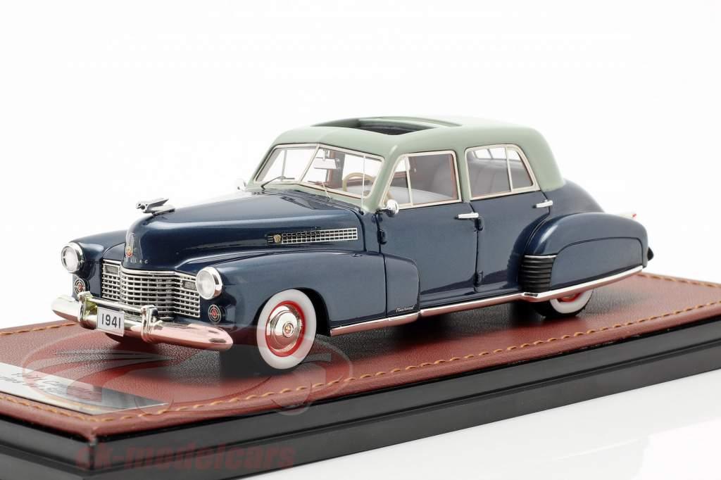 Cadillac Series 60 Special year 1941 dark blue 1:43 GLM