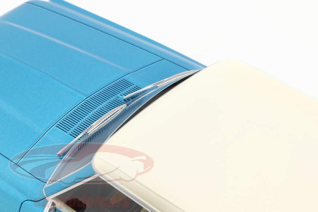 Ford Thunderbird Landaulet blau / weiß 1:18 BoS-Models / 2. Wahl