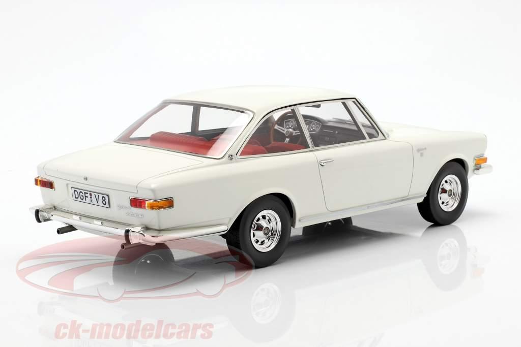 Glas 2600 V8 ano de construção 1966 branco 1:18 Schuco