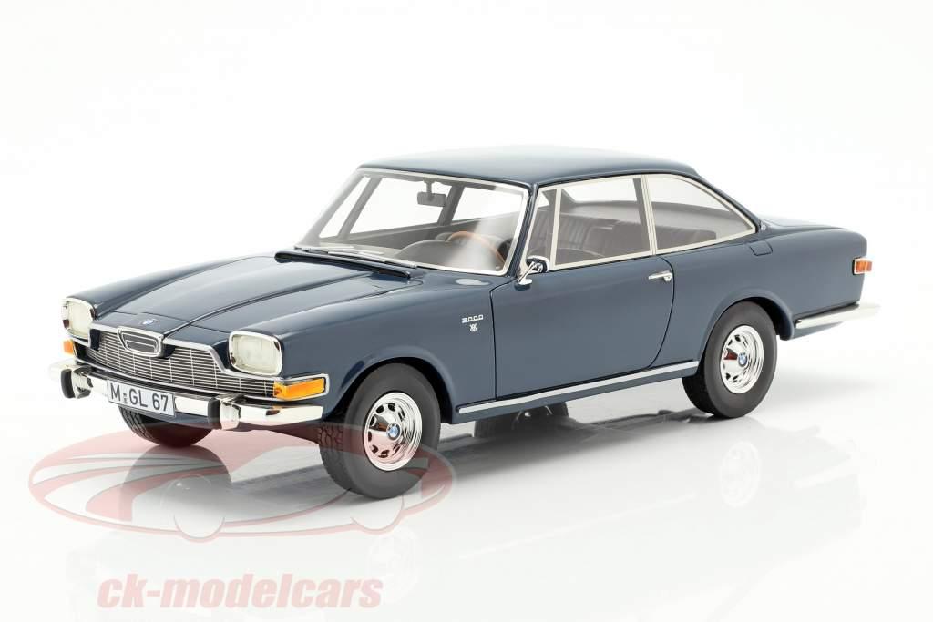 BMW Glas 3000 V8 Baujahr 1967-1968 blau 1:18 Schuco