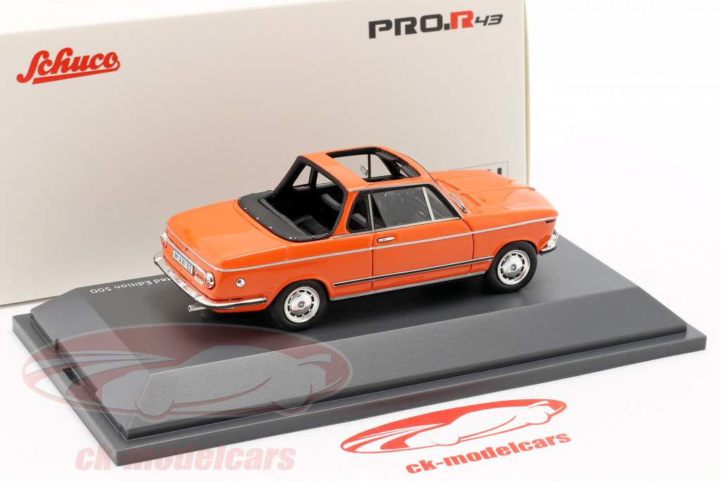 BMW 2002 Cabriolet Baur orange 1:43 Schuco