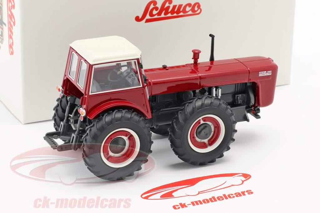 Steyr 1300 System Dutra trattore rosso 1:43 Schuco