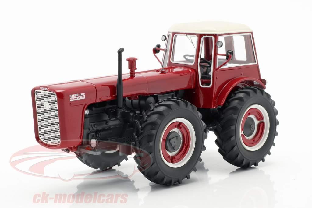 Steyr 1300 System Dutra Traktor rot 1:43 Schuco