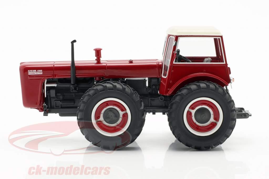 Steyr 1300 System Dutra trator vermelho 1:43 Schuco