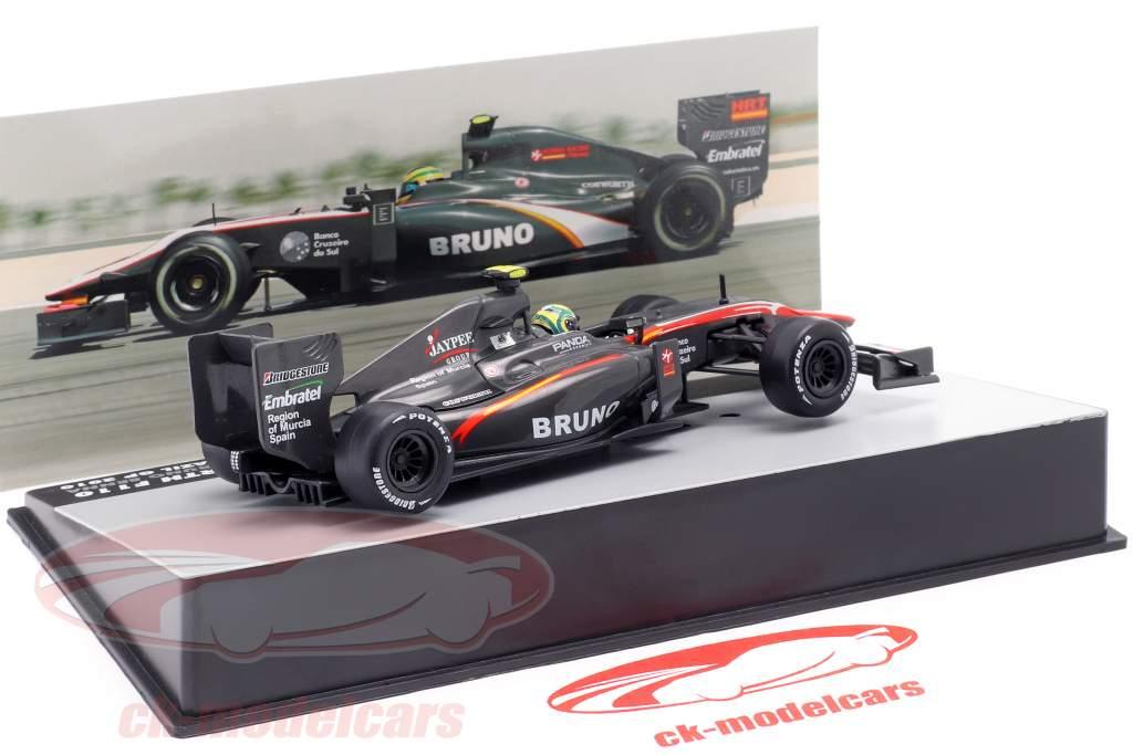 Bruno Senna HRT F110 #21 Brazilian GP formula 1 2010 1:43 Altaya