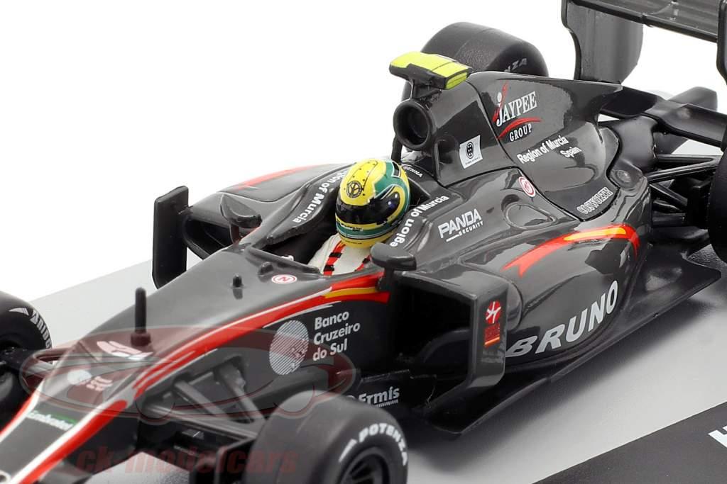 Bruno Senna HRT F110 #21 Braziliaans GP formule 1 2010 1:43 Altaya
