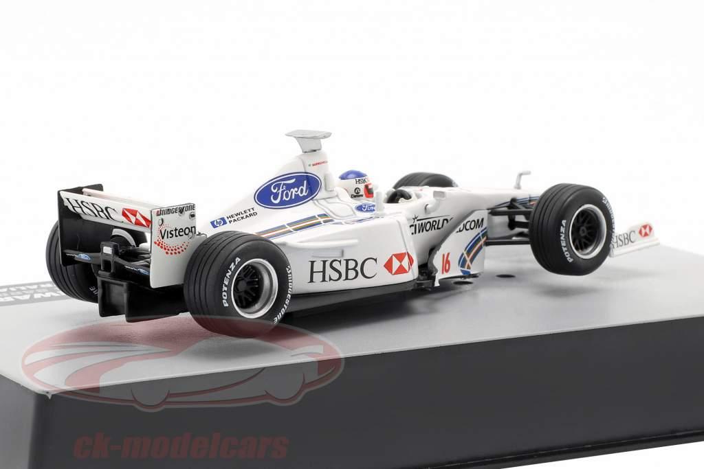 Rubens Barrichello Stewart SF3 #16 5th Australian GP formula 1 1999 1:43 Altaya