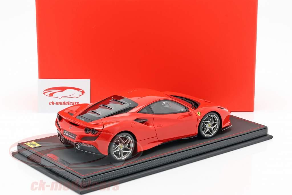 Ferrari F8 Tribute Auto Show Genf 2019 scuderia rot 1:18 BBR