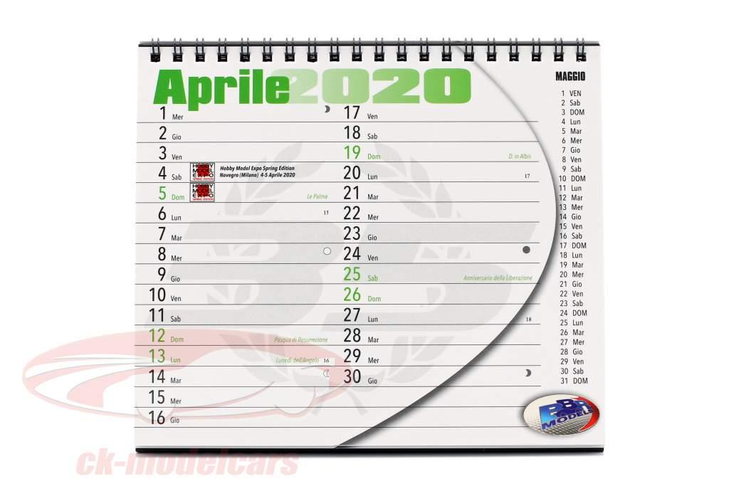 BBR Calendario da tavolo 2020