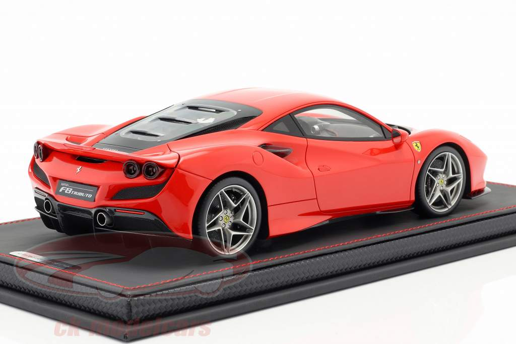 Ferrari F8 Tribute automobile show Geneva 2019 scuderia red 1:18 BBR