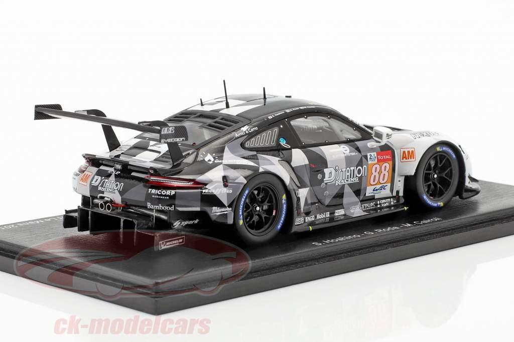 Porsche 911 RSR #88 Pole Position LMGT-Am classe 24h LeMans 2019 1:43 Spark
