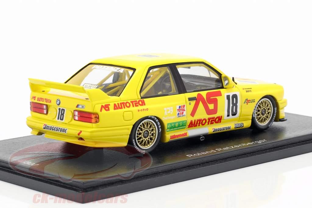 BMW M3 (E30) #18 Macau Guia Race 1991 Roland Ratzenberger 1:43 Spark