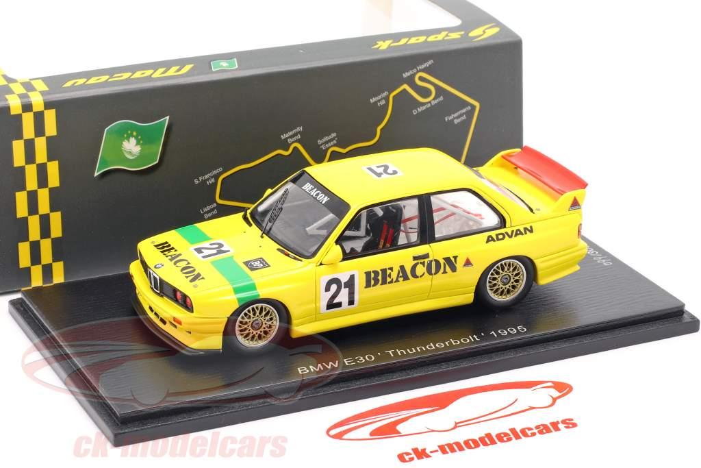 BMW M3 (E30) #21 Thunderbolt 1:43 Spark