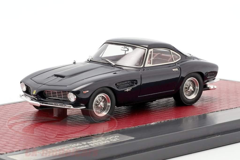 Ferrari 250 Passo Corto Lusso Bertone Sharknose 1962 azul escuro 1:43 Matrix