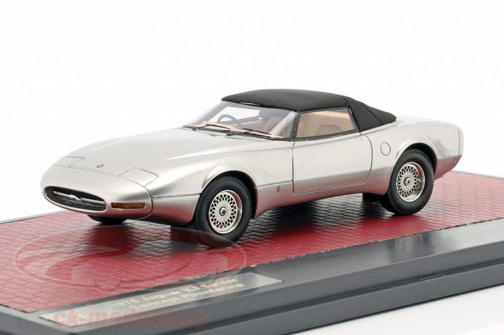 Jaguar XJ Spyder Concept Pininfarina Closed Top 1978 silver 1:43 Matrix
