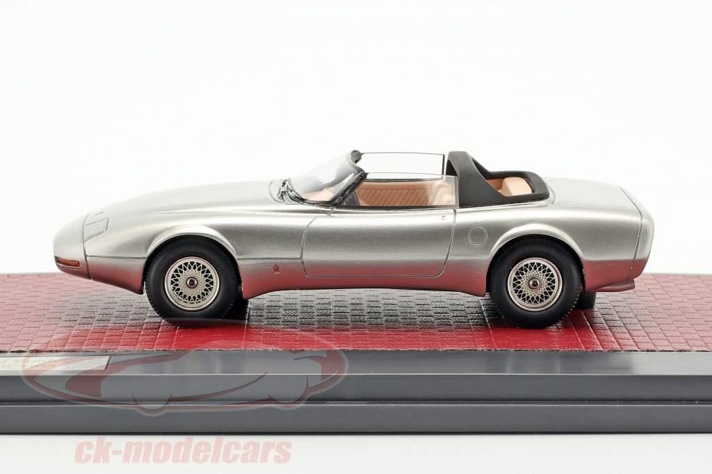 Jaguar XJ Spyder Concept Pininfarina Open Top 1978 prata 1:43 Matrix