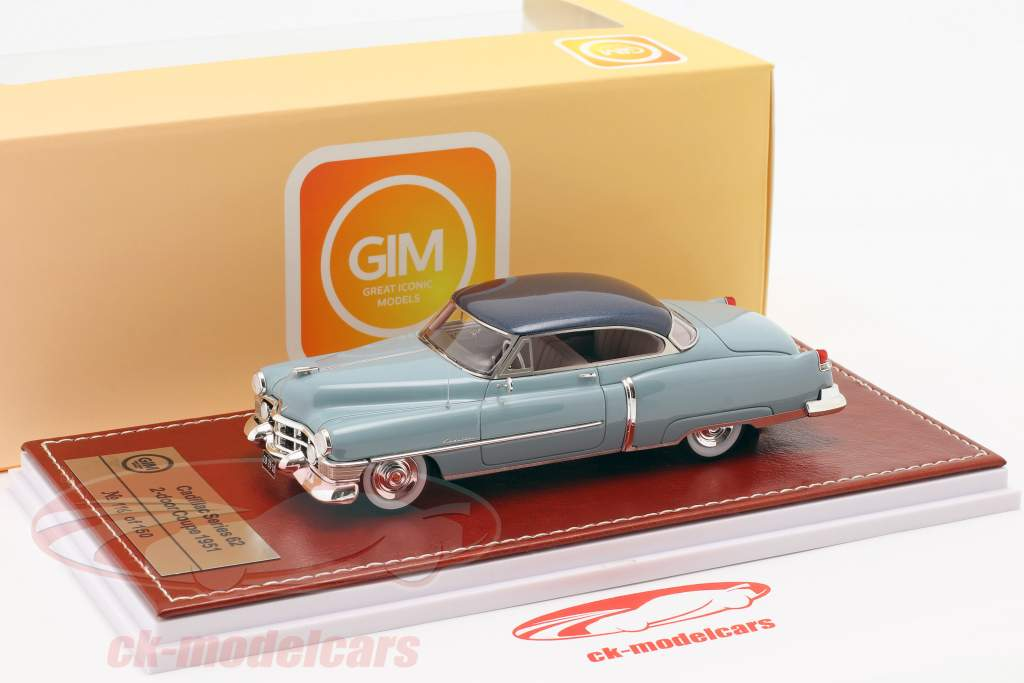 Cadillac Series 62 Convertible 1951 gold metallic / beige 1:43 Great Iconic Models