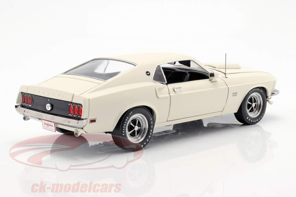 Ford Mustang Boss 429 ano de construção 1969 branco 1:18 Greenlight