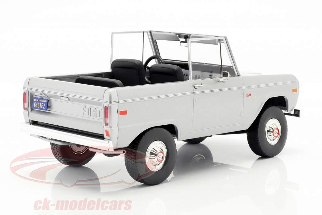 Ford Bronco anno di costruzione 1970 film Speed (1994) luce grigio 1:18 Greenlight