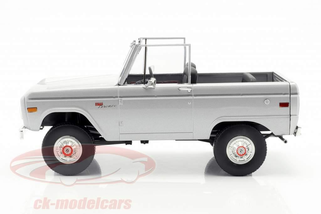 Ford Bronco ano de construção 1970 filme Speed (1994) luz cinza 1:18 Greenlight