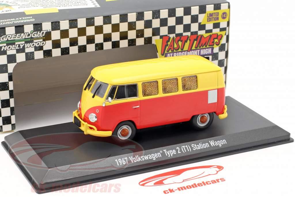 Volkswagen VW type 2 (T1) 1967 film Fast Times at Ridgemont High (1982) 1:43 Greenlight