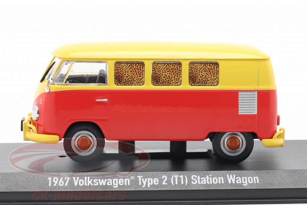 Volkswagen VW typen 2 (T1) 1967 film Fast Times at Ridgemont High (1982) 1:43 Greenlight