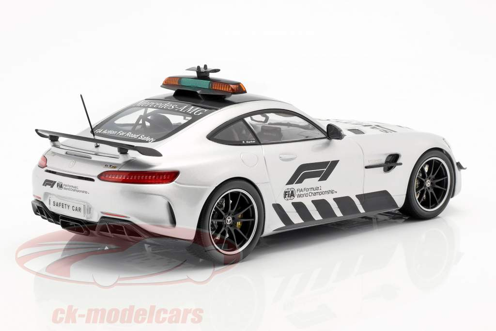 Mercedes-Benz AMG GT-R Safety Car fórmula 1 2019 1:18 Minichamps