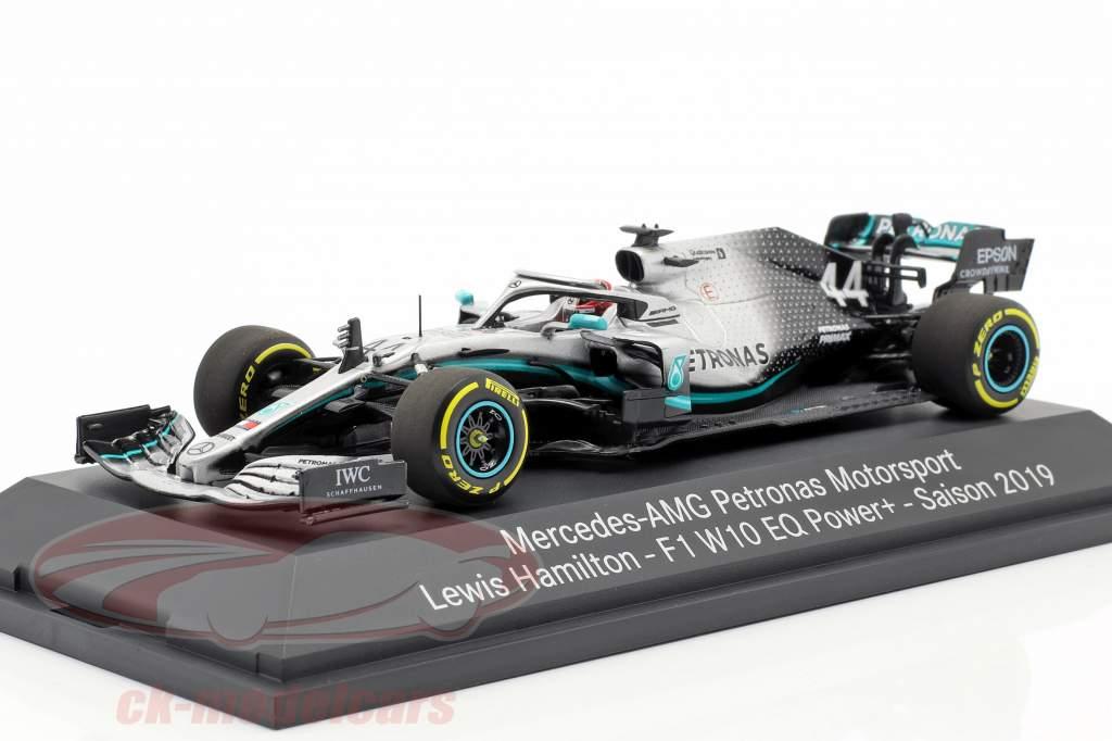 L. Hamilton Mercedes-AMG F1 W10 EQ #44 formula 1 World Champion 2019 1:43 Minichamps