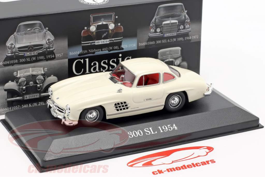 Mercedes-Benz 300 SL (W198) year 1954-1957 bright ivory 1:43 Premium Collectibles