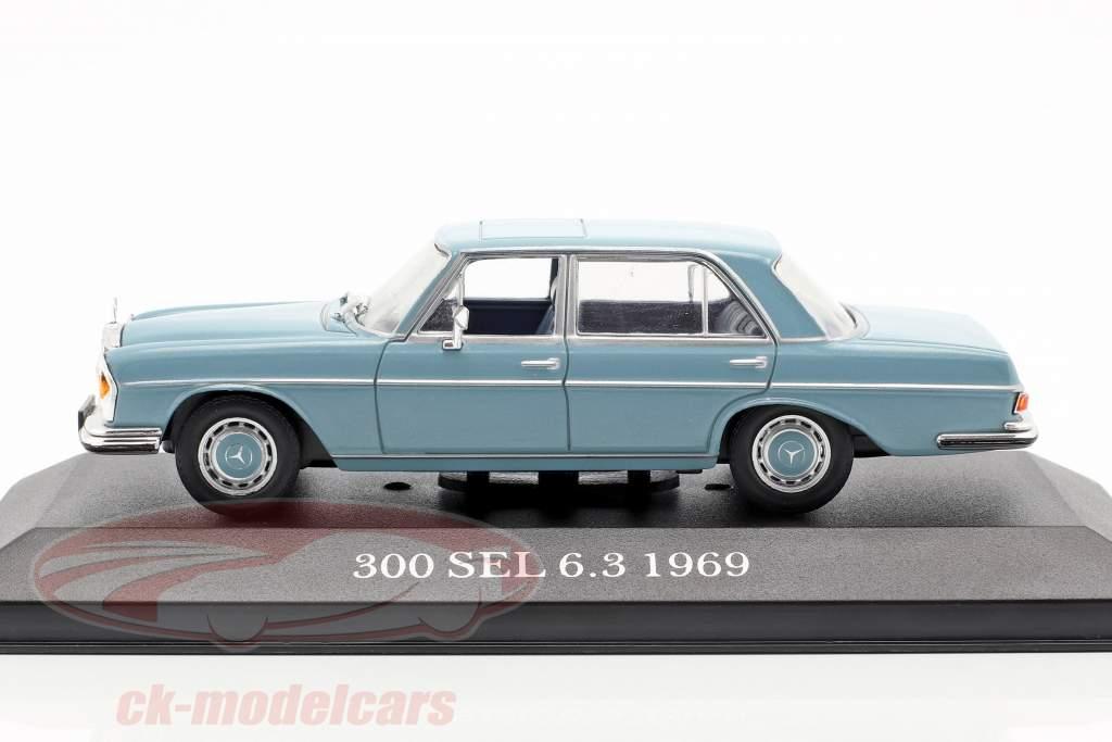 Mercedes-Benz 300 SEL 6.3 (W109) anno di costruzione 1968-1972 orizzonte blu 1:43 Premium Collectibles