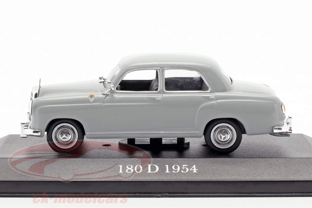 Mercedes-Benz 180 D Ponton (W120) year 1954-1959 pearl grey 1:43 Premium Collectibles