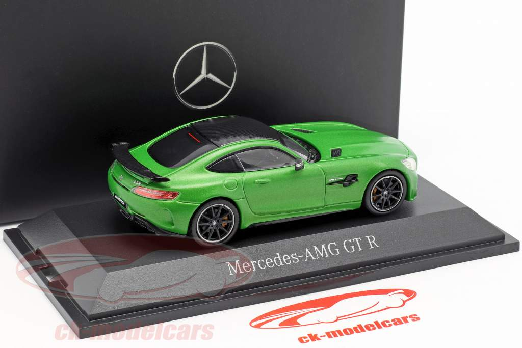 Mercedes-Benz AMG GT-R Coupé (C190) green hell magno 1:43 Norev