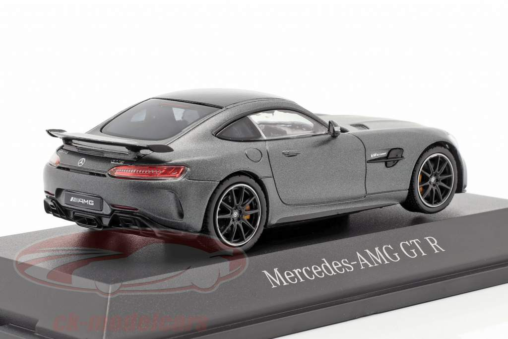 Mercedes-Benz AMG GT-R Coupe (C190) selenito cinza magno 1:43 Norev